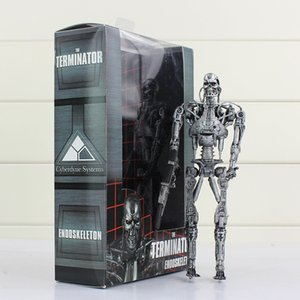 NECA Terminator Endoskeleton Action Figure Robots Jouets Collective High Quality Best Gift For Kids 18cm Free Shipping
