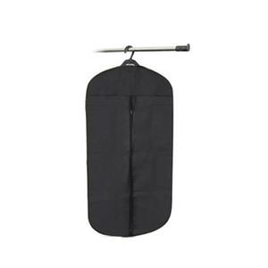 Vente en gros noir costume de mariage couverture jupe robe vêtement manteau chemise sac transporteur organisateur