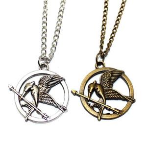 The Hunger Games Colliers Inspiré Mockingjay et Arrow Pendentif Collier L'Europe et l'Amérique film périphériques produits DHL Livraison gratuite