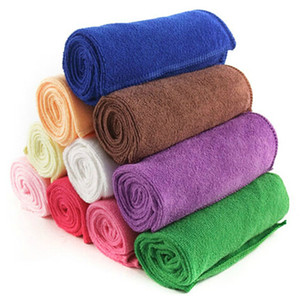 Microfiber Cleaning Cloths Pet Blanket Hypoallergenic Chemical-Free Dog Cleaning Cloth Fashion Pet Bath Towels Pet Supplies IC795