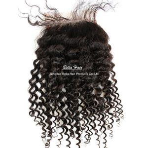 Curly-Spitze-Schliessen Malaisia peruanische Indian bresilien couleur naturel 1 Stück cheveux extention livraison gratuit teindre möglich