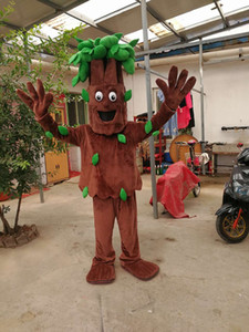 Alta calidad Real Pictures Deluxe Old tree tree mascot costume Elephant mascot costume Adult Size Envío directo de fábrica gratis