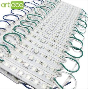 무료 배송 LED 모듈 조명 램프 SMD 5050 IP 66 방수 LED 모듈 로그인 문자 LED 백 라이트 6 주도 1.5W 90lm DC 12V