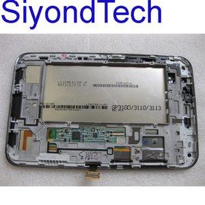 무료 배송! 7inch 삼성 갤럭시 탭 P3100에 대한 원래의 새로운 LCD 화면 터치 스크린 LCD 디지타이저 어셈블리