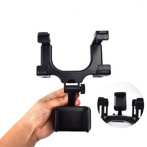 Para el teléfono 7 del sostenedor del coche del montaje del coche Espejo retrovisor universal soporte de GPS del teléfono celular del sostenedor del soporte de la horquilla del camión de Auto Espejo Con paquete al por menor