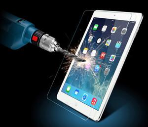 iPad Pro 2 용 프리미엄 강화 유리 3 4 5 6 iPad Air 2 미니 보호 방폭 스크린 프로텍터 2.5D 필름 (소매 용 박스 포함)