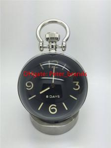 Reloj mecánico de alta calidad Manual de escritorio estilo de lujo moda Relojes de acero inoxidable luiminous luz de noche
