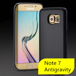 Cell phone Case Antigravity Nano-Suction Phone Cover sticks to glass mirrors white boards for Samsung Note 7 S6 S7 Iphone 6 6s 66 6s plus