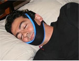 Anti Ronco Chin Strap Neoprene Parar Ronco Queixo Cinto de Suporte Anti Apnéia Jaw Solução Sono Dispositivo de Cessação ronco