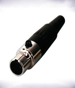 Conector XLR Micrófono de solapa lavalier con conector mini XLR de 4 pines para Shure Wireless Hdmi a Hdmi Adaptados cables auxiliares Conversor De Rca A Hdmi