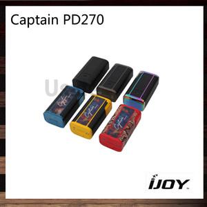 iJoy Captain PD270 TC BOX Mod 234 Вт с 2 батареями 20700 6000 мАч Прошивка с возможностью обновления Уникальный пользовательский режим пользователя 100% оригинал