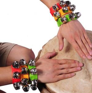 Карнавальная вечеринка Noise Maker браслет браслет Percussion Bells детские развивающие игрушки танцевальные погремушки для мужчин, женщин, детей, реквизит праздник