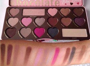 Vendita calda al cioccolato dolce Bon Bons Eyeshadow Palette naturale pigmen 16 colori il trasporto Eye Shadow Palette DHL