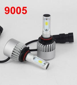 1 مجموعة S2 CSP LED المصباح 9005 HB3 72W 8000LM سوبر سليم تحويل عدة سيول Y19 الكل في واحد مروحة مدمجة الأبيض 6000K لمبات مصباح القيادة