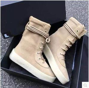 Quente! Botas de outono e inverno dos homens das Mulheres Moer arenosa Metade Botas de fundo da grossa lace-up botas Martin sapatos masculinos 38-46
