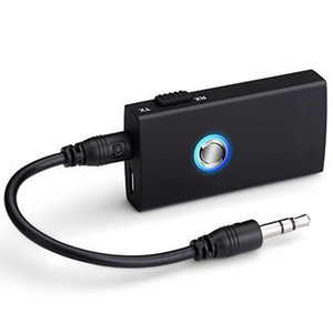 Portable Mini 5V 3,5 mm 2 en 1 Transmetteur audio sans fil Bluetooth et récepteur stéréo A2DP musique Dongle Adaptateur pour TV Mp3 PC