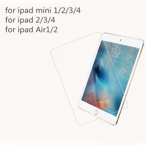 Apple Ipad 2/3/4 iPad 5 Air 2 Pro 9.7 12.9 인치 ipad 미니 1/2/3/4 강화 유리 스크린 보호 장치 9H 경도 보호 필름