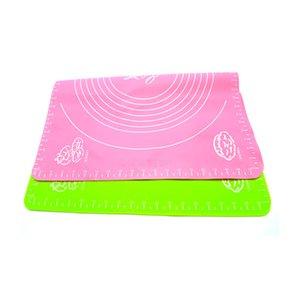 50 * 40Cm Silicone Mat Baking Cakes Panelas Antiaderente Silicone Pad Grade de Mesa Pad Geléia Fondant Cozinhar Cozinhar Ferramentas De Cozinha De Cozinha