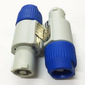10 Teile / los Hohe Qualität 3 Pin Männlich NAC3FCA NAC3FCB PowerCon Bühnenlicht Netzkabel Stecker Audio Stecker