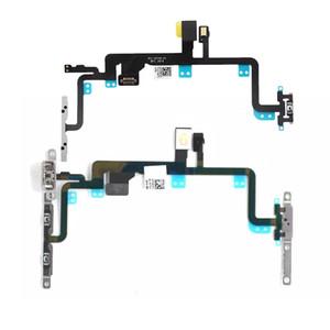 Açma Kapama Flex iPhone 7 7G artı Metal parantez Orijinal Yedek Güç Düğmesi Hacmi Yan Anahtar Flex Kablo