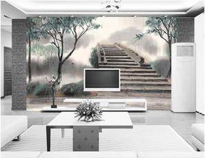 fondos de pantalla para paredes 3d Ink arch murales 3d murales fondos de pantalla para sala de estar