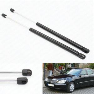 2pcs Auto Bonnet Hood Gas Struts Shock Struts Car Lift Supports for Mercedes-Benz W220 S280 S320 S350 S400 S500 S600