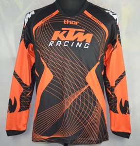 Brand-Men KTM Dirt Bike MTB motocross carrera de motociclismo camiseta de ciclismo camiseta de protección de campo camisa de transpiración camiseta de mecha