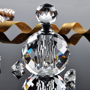Effacer 10ml cristal verre bouteille de parfum vide rechargeable bouteille de parfum parfum boîte cadeau pour cadeau de mariage femmes faveur P011