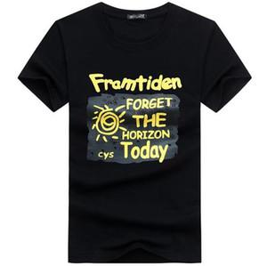 Camisas dos homens T Moda 2017 Verão Estilo de Algodão 3D Encabeça Carta Engraçada urso do diamante Estendido Top Quality camiseta Plus Size S-5XL
