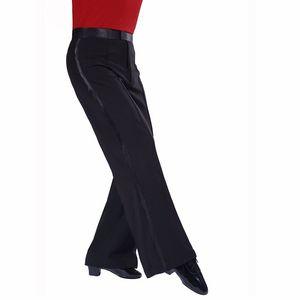 2018 New Arrival Latin Dance Pants Mens Ballroom Dance Pants Cha Cha Rumba Samba Pants Dancewear