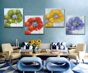 Pure pintado à mão sala de estar estudo quarto moderno estilo simples decorativo pintura a óleo da lona pintura a óleo grosso faca JL400