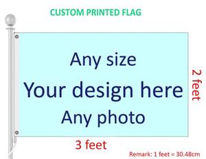 2x3 Özel Baskılı Bayrak Herhangi Bir Boyut, Logo, Tasarım ve Fotoğraf Polyester Bayrakları ve Pankartlar Özelleştirilmiş