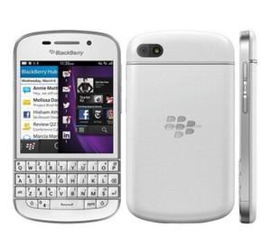 Blackberry Q10 Mobile Phone 3G 4G Rete Dual-core 1.5 GHz 2G RAM 16G ROM sbloccato Q10 originale rinnovato telefono cellulare