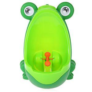 Baby Boy Potty Toilet Frog Training Rana para niños Vertical Urinal Boys Penico Pee Infant Toddler Murales para montaje en pared