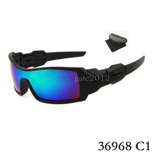 % 100 Yeni Sunglass İçin Erkek Oil Rig Sunglass Açık Spor kutusu Gözlüklü Google Glasses güneş gözlüğü.