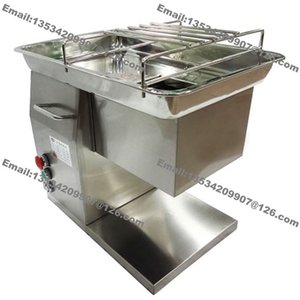 250 KG / H de Acero Inoxidable 2.5mm-25mm Personalizar Hoja 110 v 220 v Eléctrico Industrial Carne Fresca Tenderizer Cutting Machine