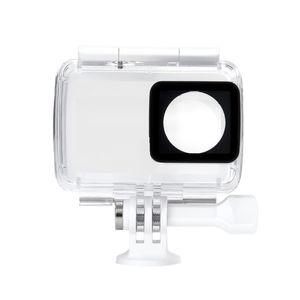 Freeshipping YI حالة مضادة للماء ل YI 4K عمل الكاميرا / YI 4K زائد عمل الكاميرا الرياضة عمل الكاميرا الملحقات
