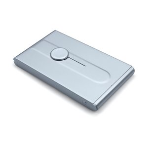 Бизнес ID имя карты держатель чехол для мужчин из нержавеющей алюминия автоматические слайд подарки горячей продажи Бесплатная доставка