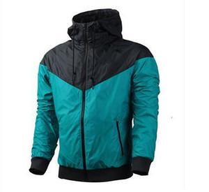 Fall-Hot! Erkekler İlkbahar / Sonbahar Ince Ceket Ceket, Erkekler ve kadınlar spor rüzgarlık ceket patlama Siyah modelleri Windrunner ceket çift