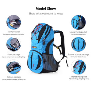 LOCAL LION 459 Outdoor Hydration Backpack 22L Climbing Pack per l'escursionismo