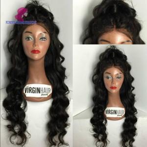 4 estilos cabelo humano peruca do laço 8-26 polegada brasileiro virgem remy peruca de cabelo humano em linha reta onda do corpo encaracolado profundo ondas soltas perucas para mulher negra