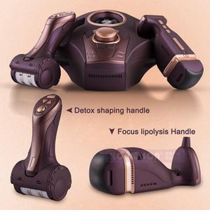 Liposonix Pour le corps de visage amincissant la taille portative de machine pour l'usage à la maison ou l'utilisation de salon avec 2 poignées pour le drainage lymphatique