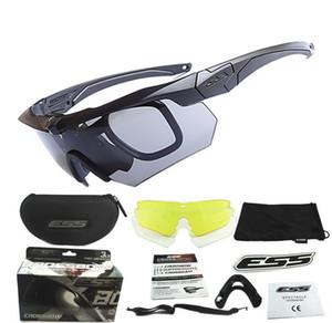 ess crossbow Crossbow ABD askeri kurşun geçirmez gözlük gözlük açık gözlük E4 versiyonu 3 takım miyopi çerçeve crossbow of 3 takım
