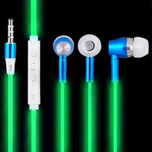 333 Наушники со светящимися наушниками Night Light Glowing Headset Стерео наушники с микрофоном для iphone 6 7 8 Samsung Galaxys 6 8 9