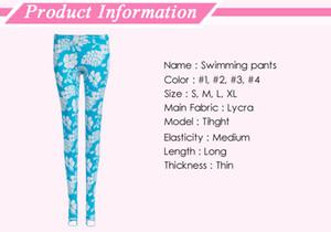SBART Feminino Surf Leggings Natação Calças de Mergulho para a Proteção Solar 4 Cores e Tamanhos Linho Corpo Terno Yoga Pant Sports pant