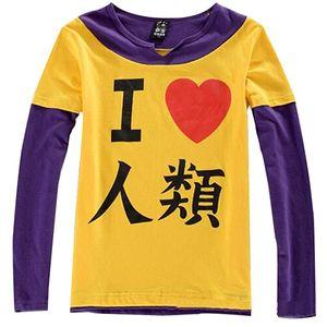 No Game No Life Sora cosplay traje héroe camiseta tee