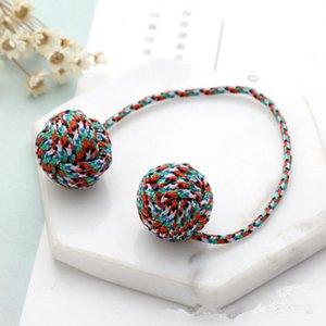Duas Contas Handmade Begleri Fidget Brinquedo EDC Macaco Punho Dedo Habilidade Worry Beads Stress Brinquedos de Presente