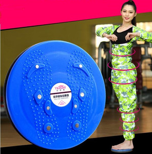 Nuova vita calda di alta qualità Twisting DISC YOGA TWIST BOARD Reflexology Body Torsion Waist Disc Spedizione gratuita