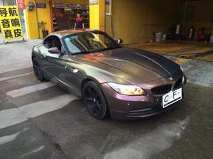 Глянцевый металлический фиолетовый до бронзы флип блеск винил автомобиль обернуть фильм с воздушным пузырем бесплатно Хамелеон покрытие фольги размер 1.52x20m / Roll
