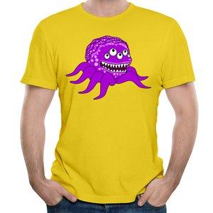 Cartoon Freizeit Slim Fit T-shirt Monster Clip 3D Gedruckt Kurzarm Große Größe T-shirt Custom Design Shirts Mode